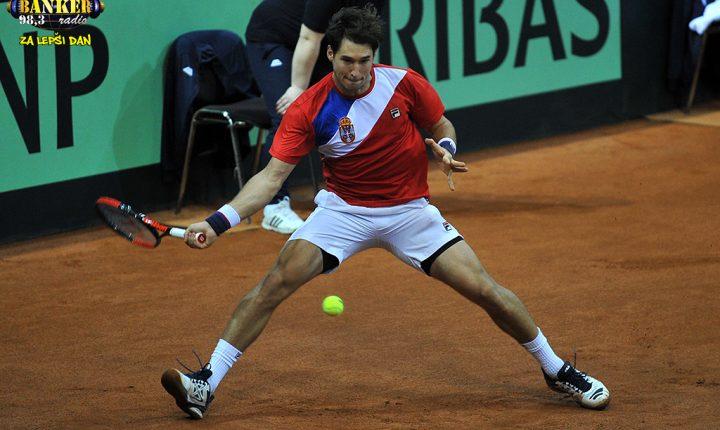 Niška publika uz srpske tenisere