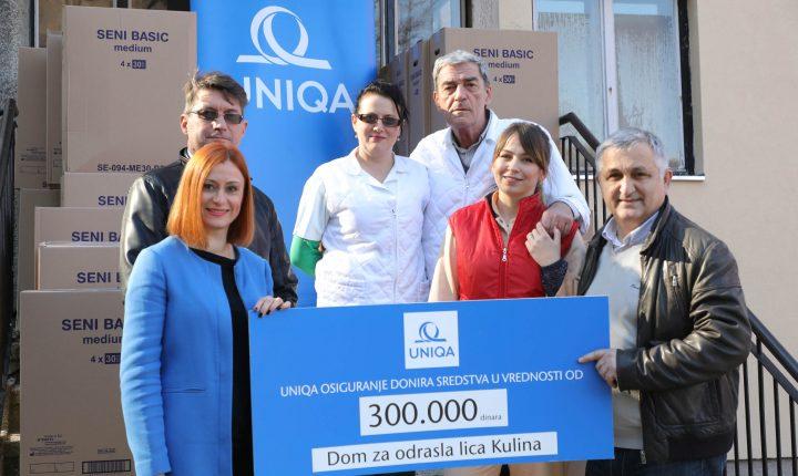 Humanitarna akcija UNIQA osiguranja