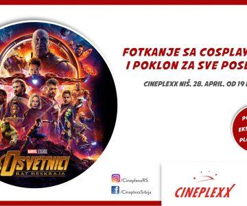 Repertoar bioskopa Cineplexx od 26. aprila do 2. maja