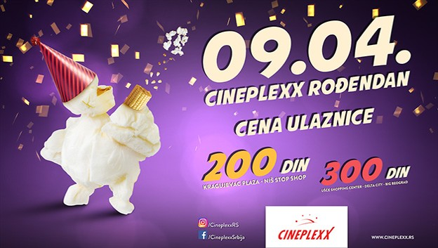 Repertoar bioskopa Cineplexx od 5. aprila do 11. aprila