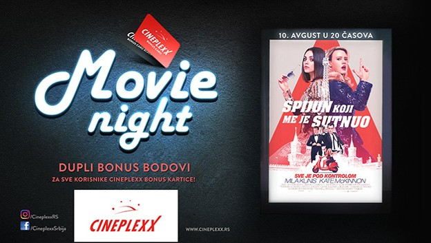 Novi naslovi na repertoaru bioskopa Cineplexx